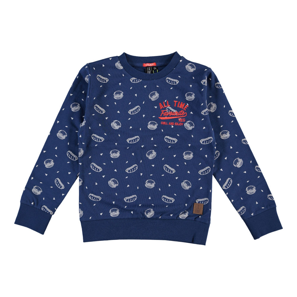 Someone jongens sweater Enjoy blauw
