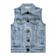 Your Wishes denim gilet