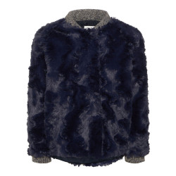 Name It fake fur vest (va.80)