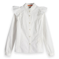 Scotch R'Belle blouse wit