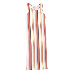 Crush Denim maxi-jurk