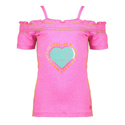 Kidz Art off-shoulder shirt