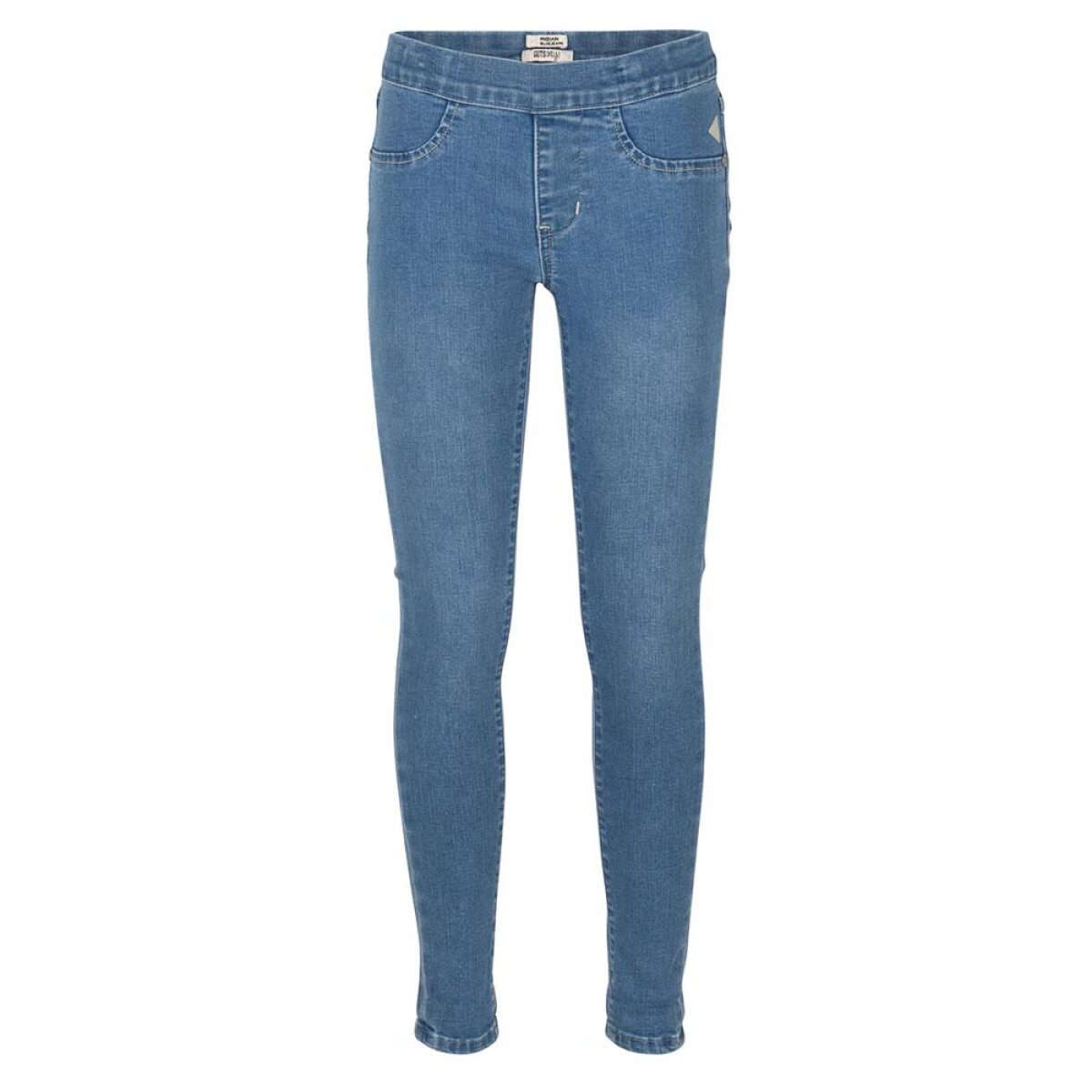 Indian Blue Jeans meisjes tregging supper skinny Amy IBG21-2180 blauw