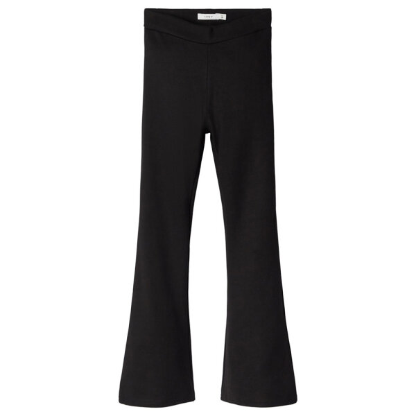 Name It flared pants NKFFRIKKALIBOOTCUT zwart