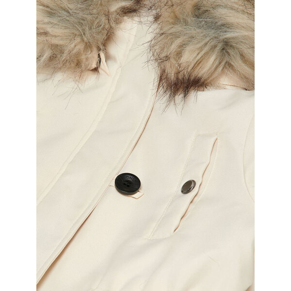 KIDS ONLY meisjes winterjas KONIRISFURPARKA Off-white